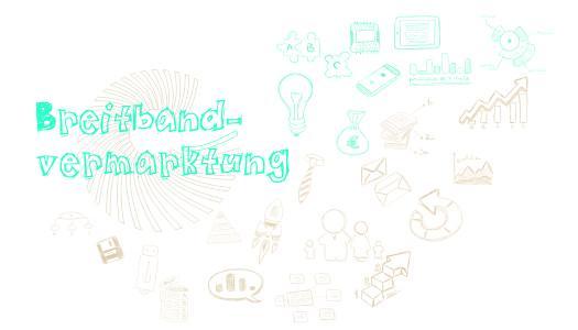 Blogbeitrag zur Vermarktung von Breitbandprodukten