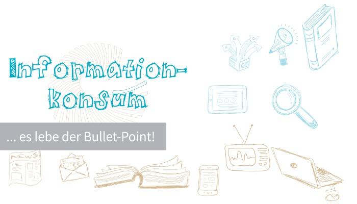 Blogbeitrag: Informationskonsum