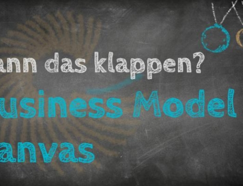 Kann das klappen? Business Model Canvas