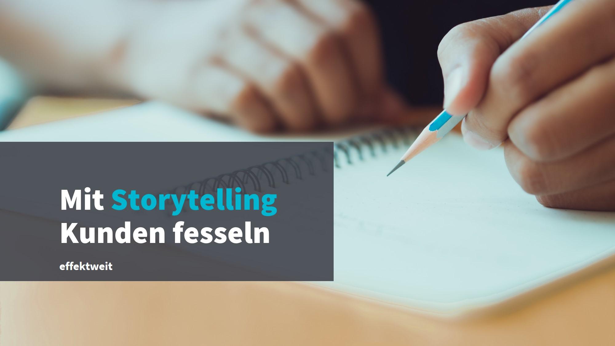 Erfolgskonzept Storytelling