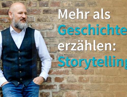 Mit Storytelling Kunden in den Bann ziehen